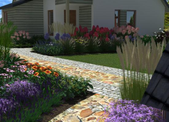 Ogród naturalistyczny projekt ogrodu