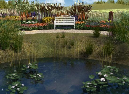 Architektura krajobrazu projekt ogrodu